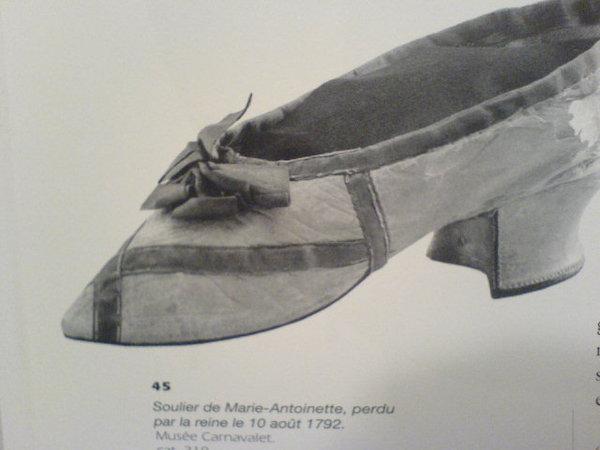 Les souliers et chaussures de Marie-Antoinette  - Page 5 Chauss12