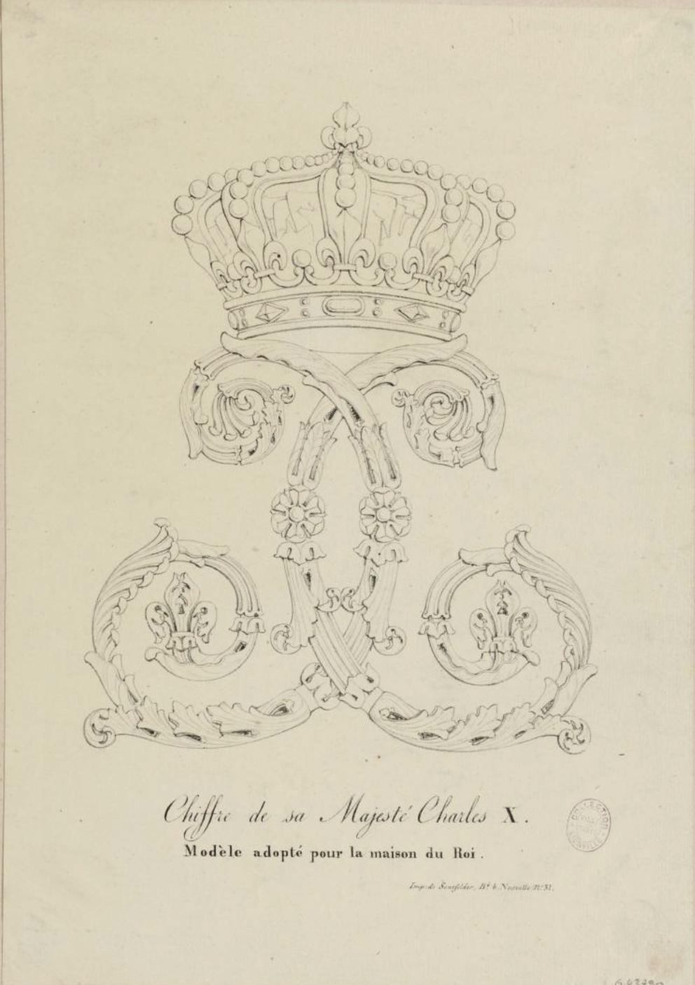 Le comte Charles-Philippe d'Artois, futur Charles X - Page 4 Chiffr11