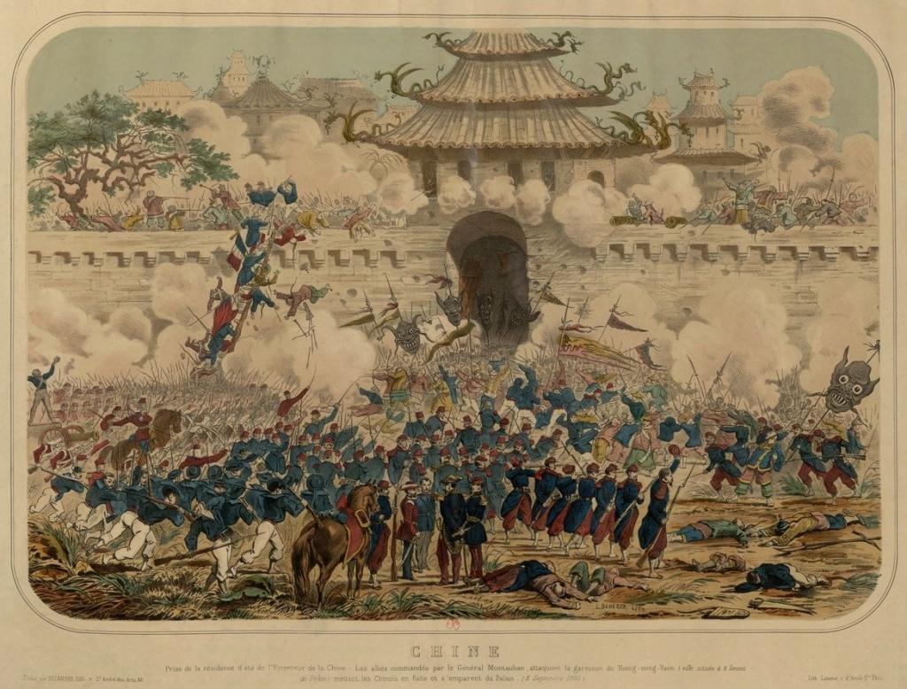 La destruction et le sac du Palais d'été de Pékin (1860) Chine_10