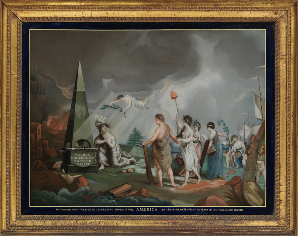 La peinture sous / sur verre chinoise au XVIIIe siècle Chines11