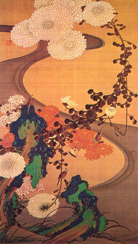 Exposition : Jakuchū (1716-1800), le Royaume coloré des êtres vivants Chrysa10