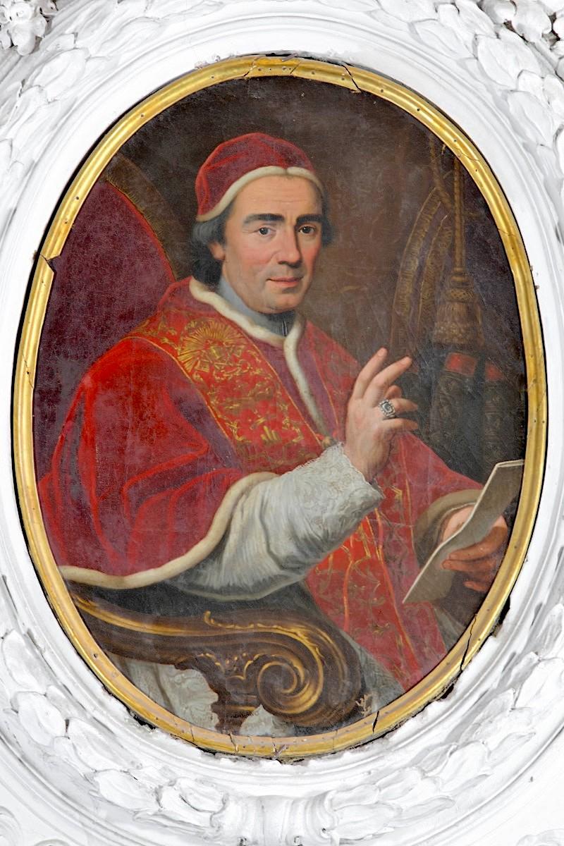 Les Roses d'or ou Roses bénites. L'exemplaire offert par le pape Clément XIV à la reine Marie-Caroline de Naples Clemen11