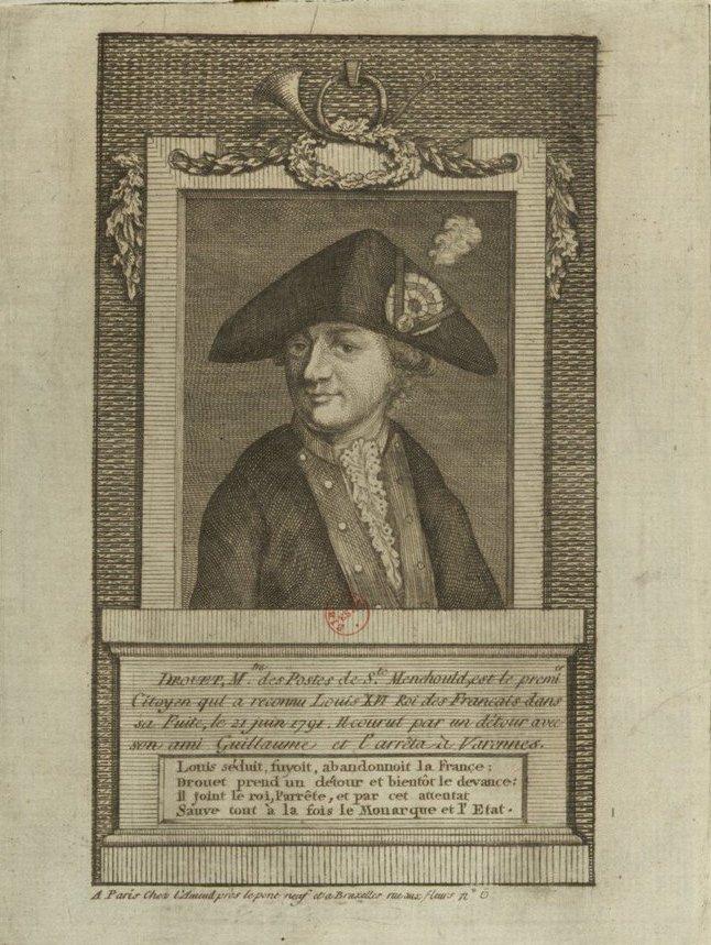 Varennes : Jean-Baptiste Drouet a-t-il reconnu Louis XVI grâce au profil du roi gravé sur une pièce de monnaie ?  Clfg9p10