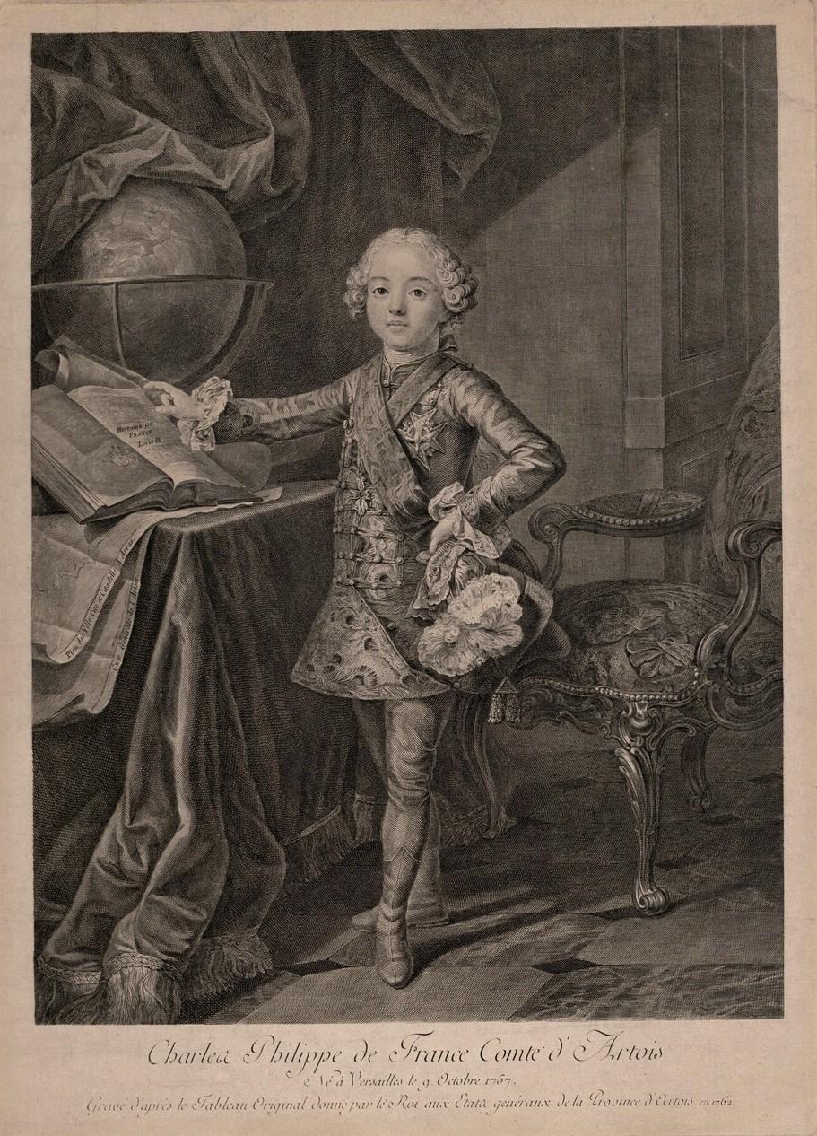 fredou - Portraits de Marie-Antoinette et de la famille royale, par Jean-Martial Frédou Comte_11