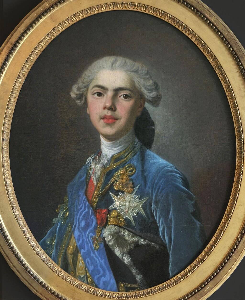 Portraits du comte d'Artois ou du comte de Provence par Van Loo ? Comte_12