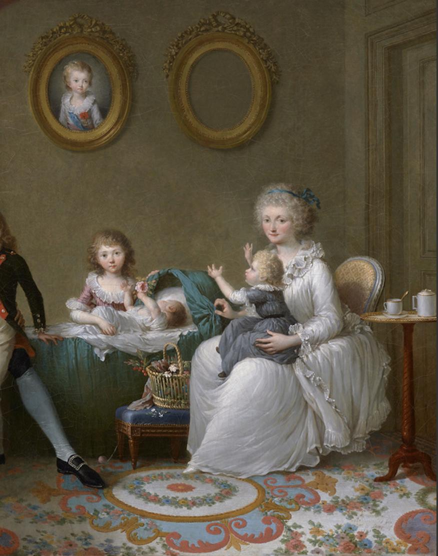 Marie Antoinette, par (et d'après) Louis-Simon Boizot - Page 3 Comte_22