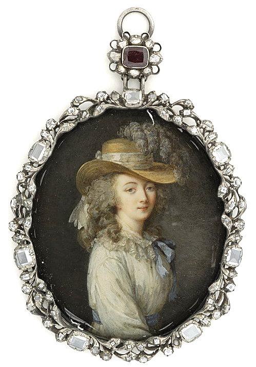 Portraits de la comtesse du Barry par (et d'après) Elisabeth Vigée Le Brun Comtes11