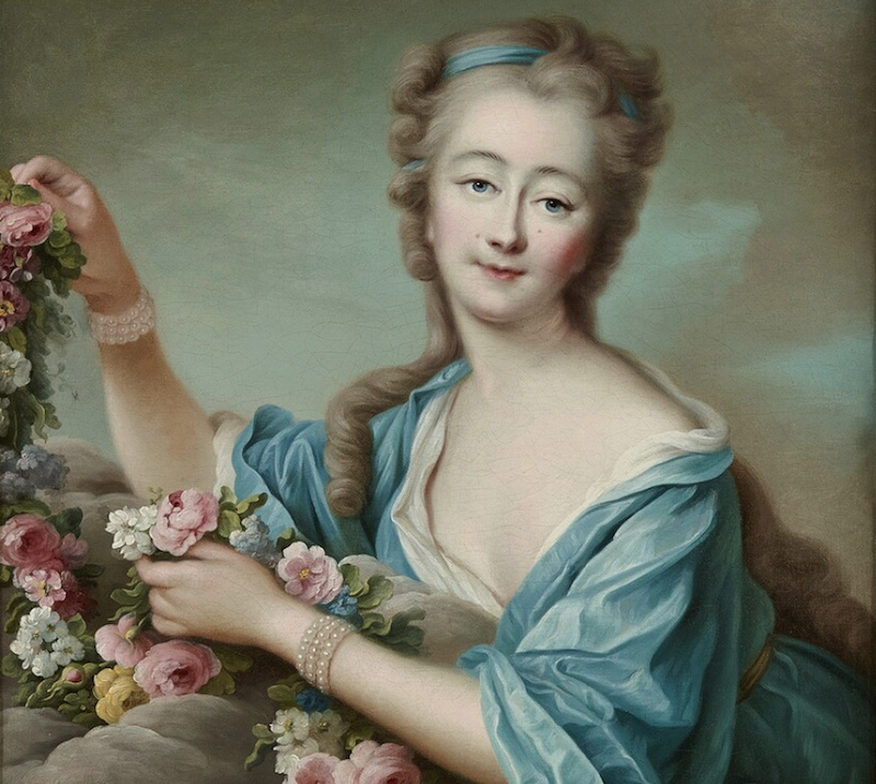 Portraits de Madame du Barry par François-Hubert Drouais - Page 3 Comtes16