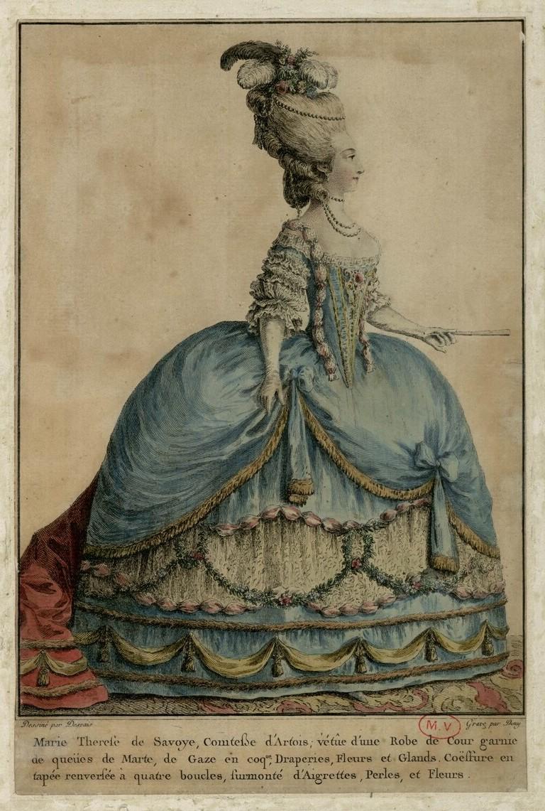 Marie-Thérèse de Savoie, comtesse d'Artois - Page 2 Comtes24