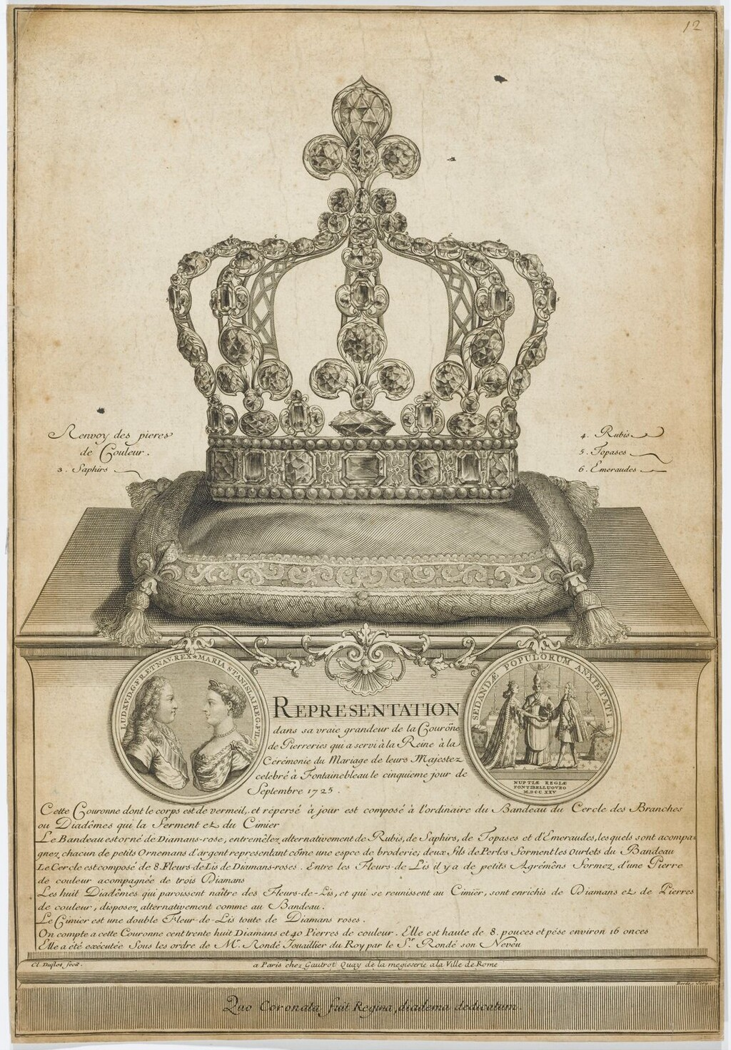 La reine Marie Leszczynska - Page 2 Couron10