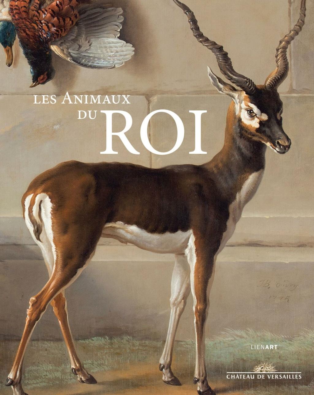 """Exposition """"Les animaux du Roi"""" au château de Versailles Couv_a10"""