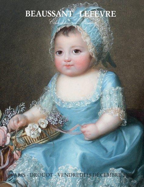 Sophie de Bourbon dite Mademoiselle d'Artois Couver10