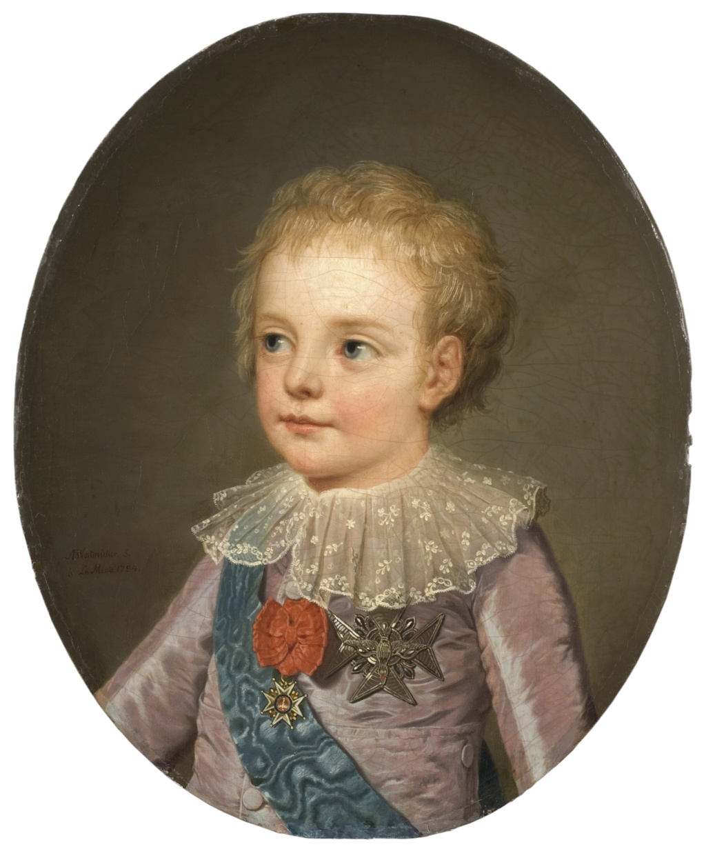 Portraits du dauphin Louis-Joseph de France Crownp10