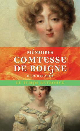 Mémoires de la comtesse de Boigne D2357910