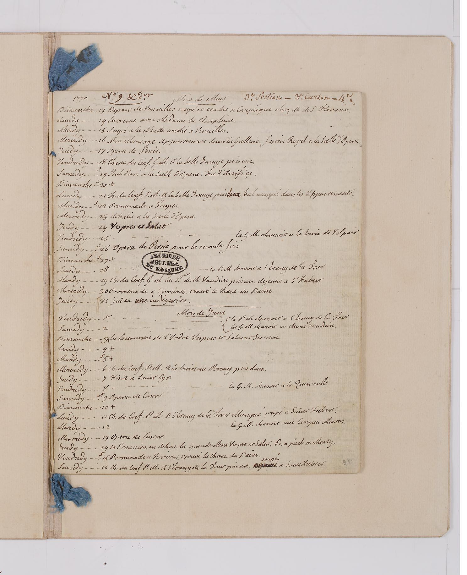 Le Journal du roi Louis XVI et ses Reflexions sur ses entretiens avec Mr le Duc de la Vauguyon Dafanc32