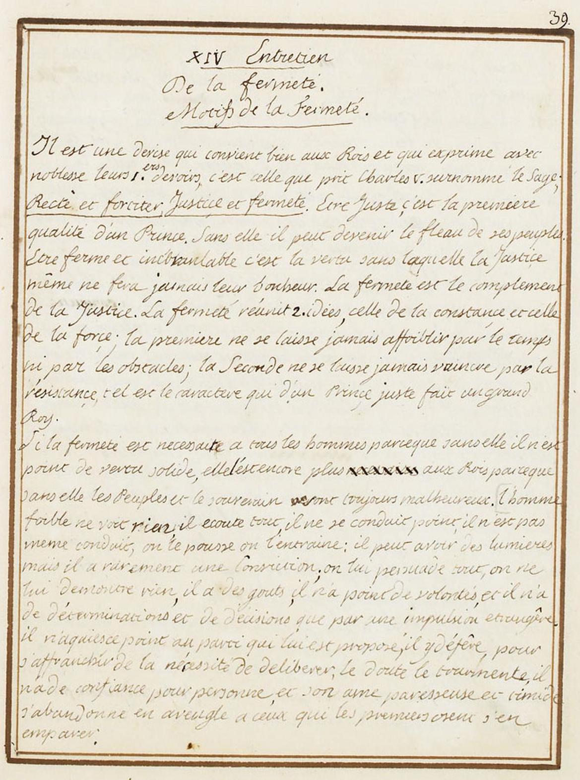 Le Journal du roi Louis XVI et ses Reflexions sur ses entretiens avec Mr le Duc de la Vauguyon Dafanc38