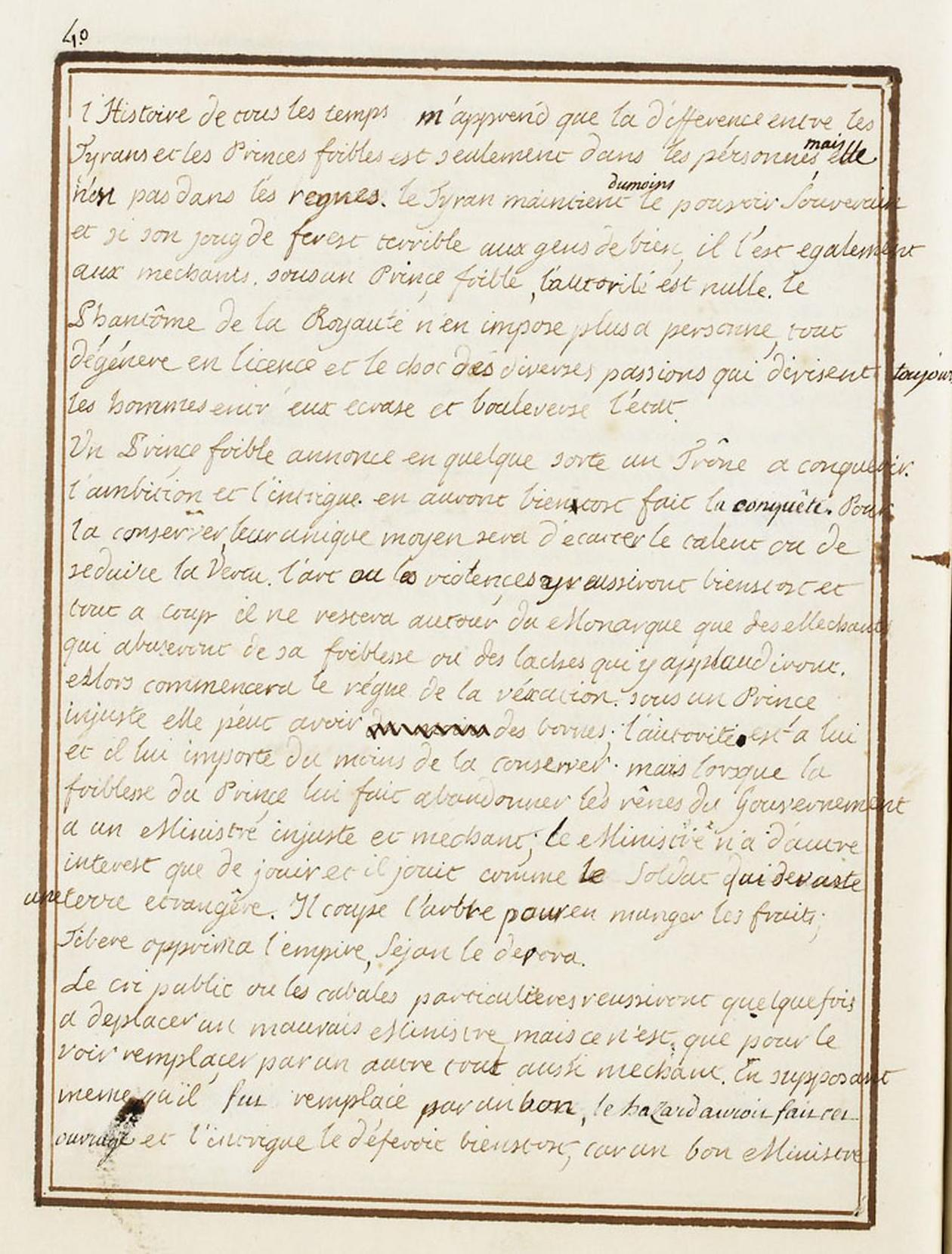 Le Journal du roi Louis XVI et ses Reflexions sur ses entretiens avec Mr le Duc de la Vauguyon Dafanc39