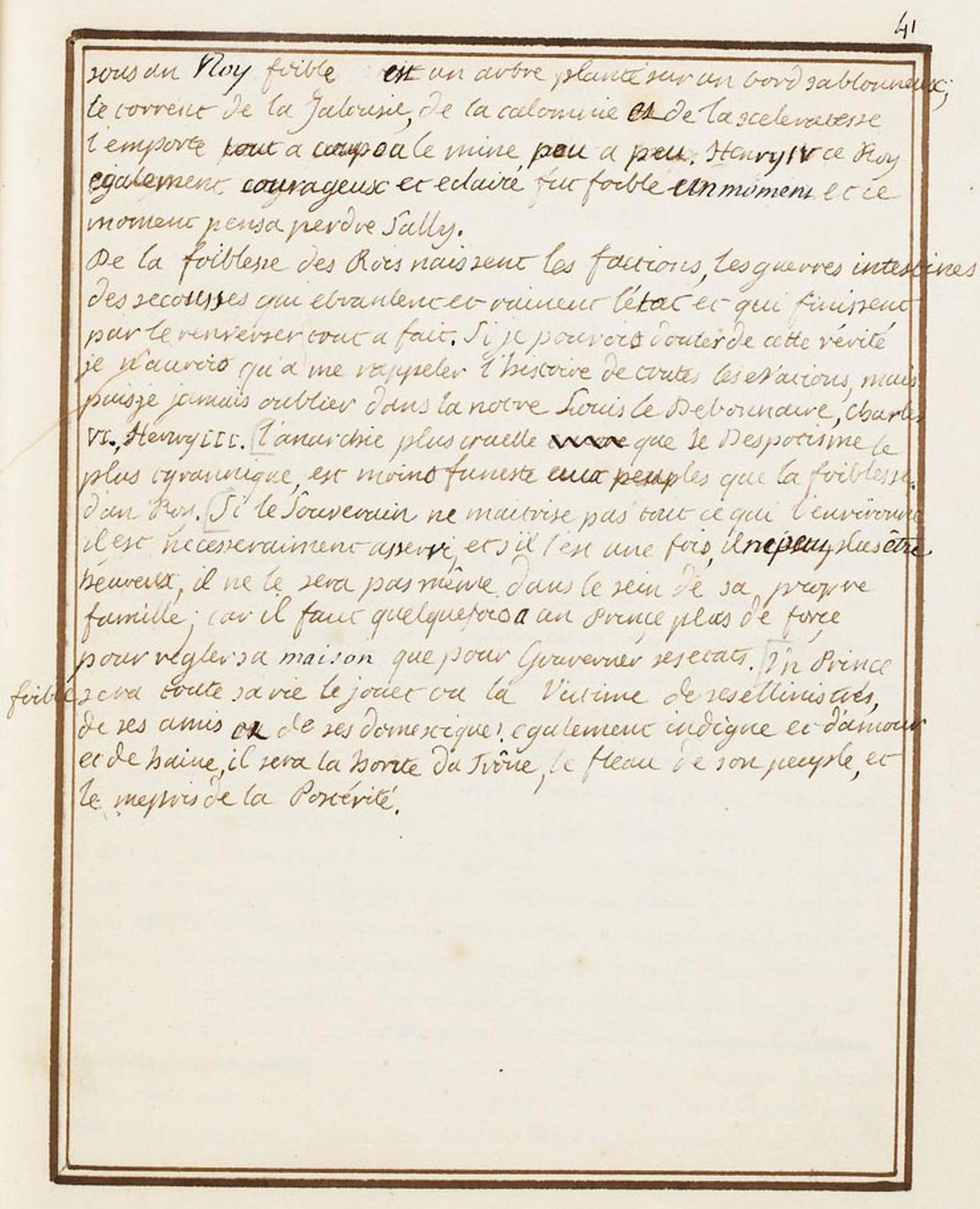Le Journal du roi Louis XVI et ses Reflexions sur ses entretiens avec Mr le Duc de la Vauguyon Dafanc40