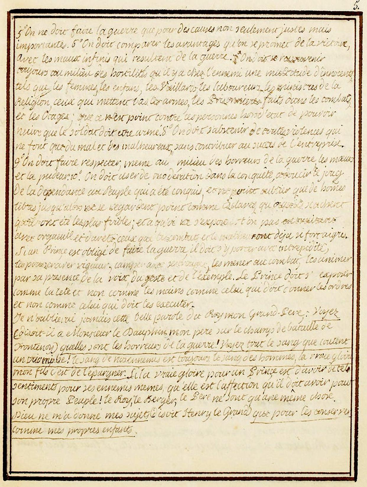 Le Journal du roi Louis XVI et ses Reflexions sur ses entretiens avec Mr le Duc de la Vauguyon Dafanc42