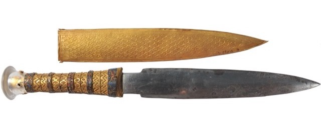 Exposition : Toutânkhamon, le Trésor du Pharaon (Paris) Dague-11