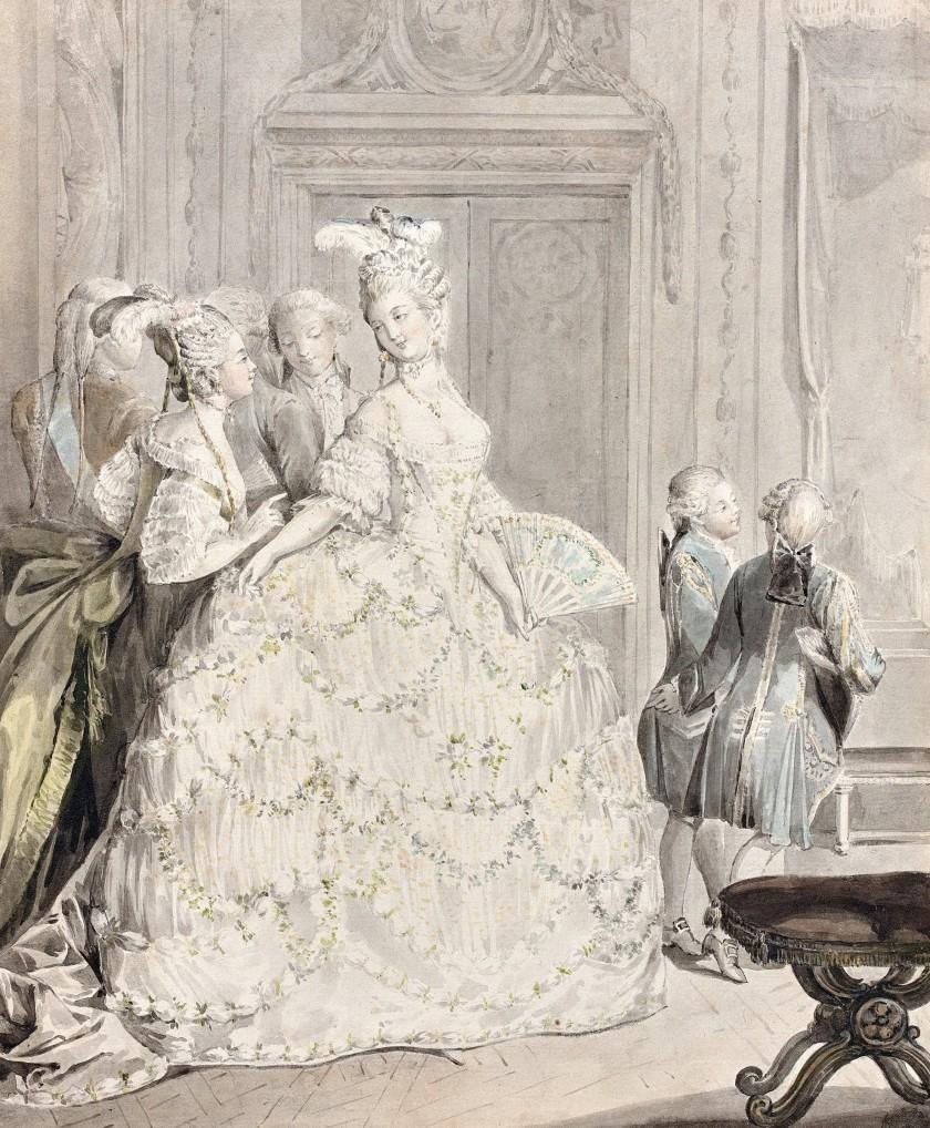 Maison et dames du Palais de la reine Marie-Antoinette - Page 8 Dame_d10