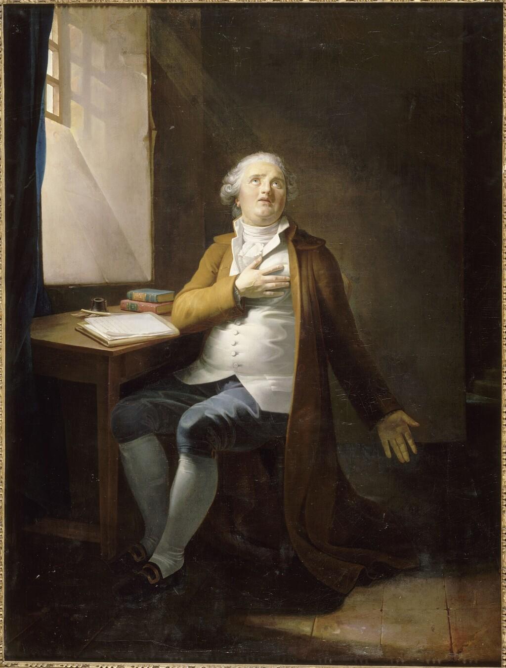 Louis XVI coiffé du bonnet phrygien Danlou10