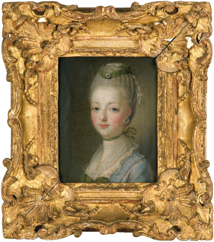 Portraits de Marie-Antoinette par et d'après François-Hubert Drouais Dauphi12