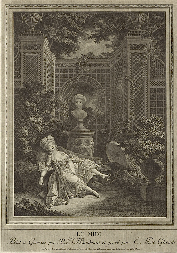 Pierre-Antoine Baudouin, dessinateur du libertinage au XVIIIe siècle De_gen10
