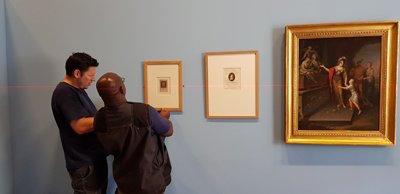 Expo : Heurs et malheurs de Louis XVII, arrêt sur images. Musée de la Révolution française, Vizille Dgmy4x10