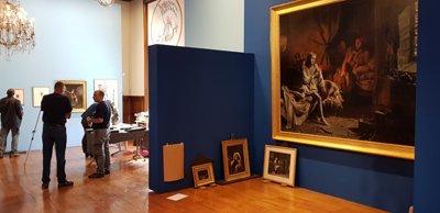 Expo : Heurs et malheurs de Louis XVII, arrêt sur images. Musée de la Révolution française, Vizille Dgmy6g10