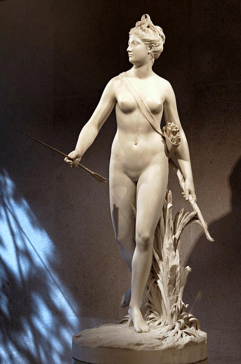 Jean-Antoine Houdon, le sculpteur des Lumières Diane_11