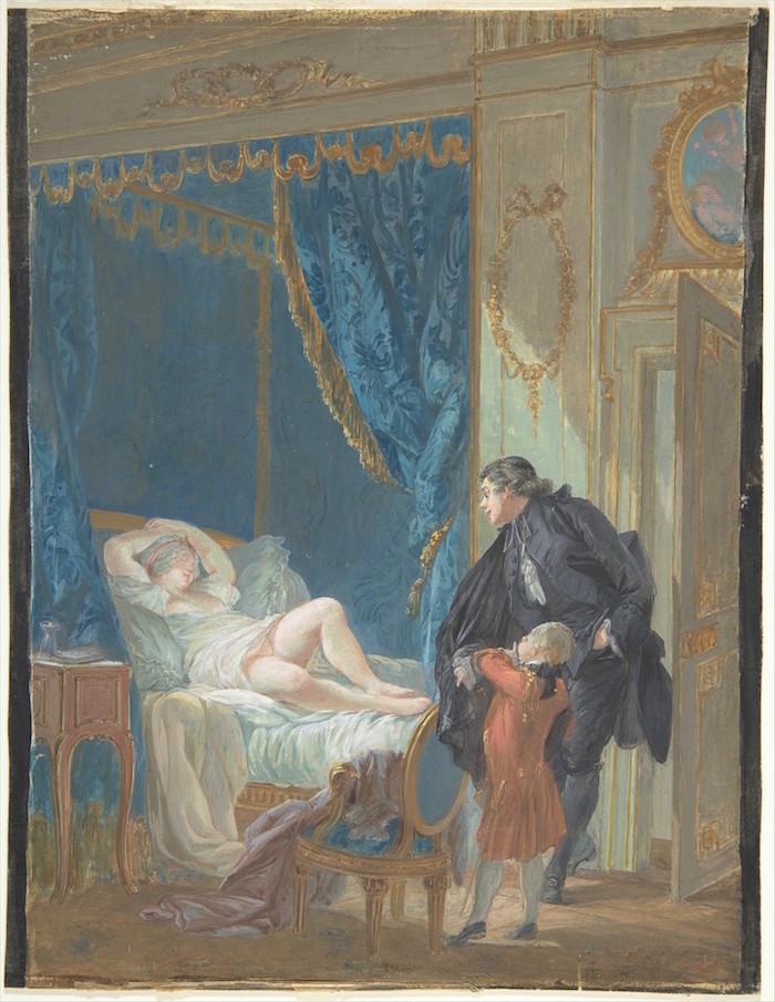Pierre-Antoine Baudouin, dessinateur du libertinage au XVIIIe siècle Dp805110
