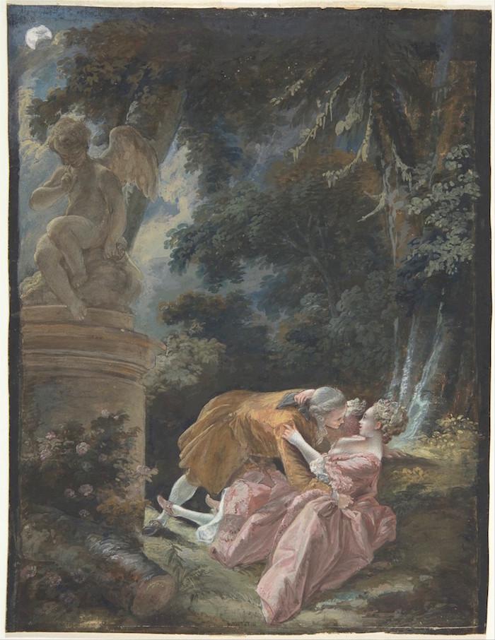 Pierre-Antoine Baudouin, dessinateur du libertinage au XVIIIe siècle Dp805111