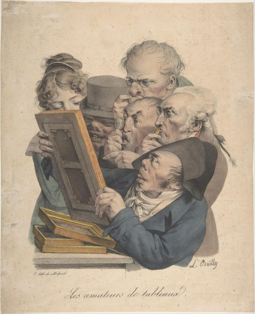 Louis-Léopold Boilly : peintre de la société parisienne de Louis XVI à Louis-Philippe Dp808210