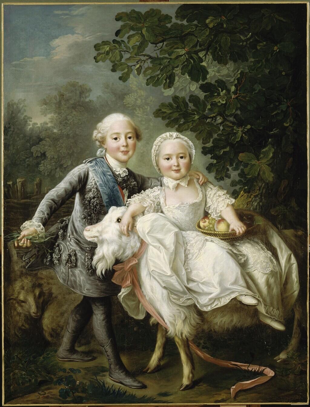 Les Drouais, artistes peintres de père en fils : Jean, Hubert, François-Hubert et Jean-Germain Drouais Drouai23