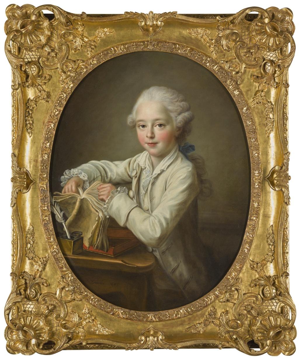 Les Drouais, artistes peintres de père en fils : Jean, Hubert, François-Hubert et Jean-Germain Drouais Drouai24