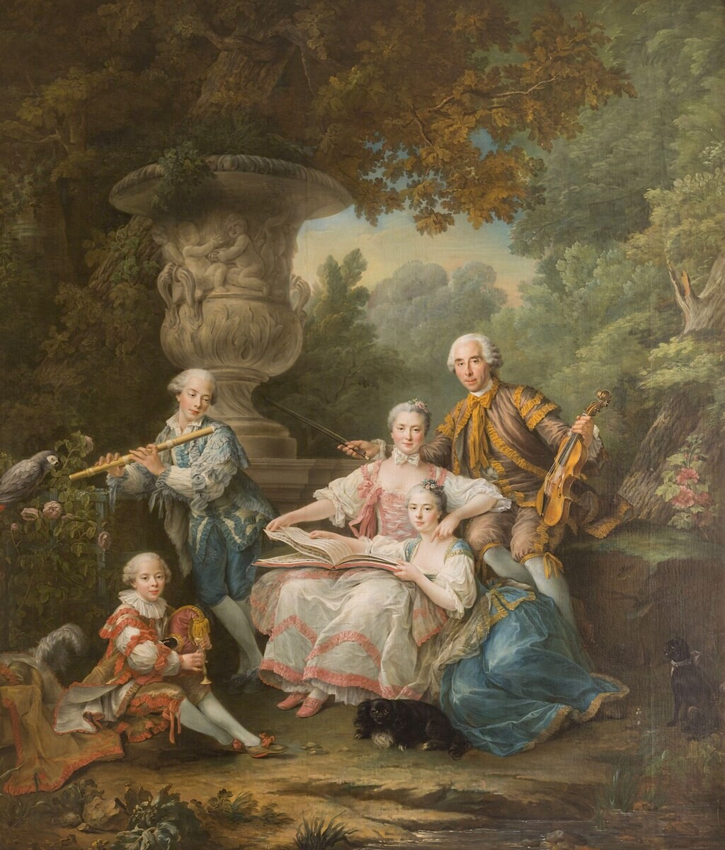 Les Drouais, artistes peintres de père en fils : Jean, Hubert, François-Hubert et Jean-Germain Drouais Drouai25