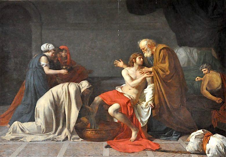 Les Drouais, artistes peintres de père en fils : Jean, Hubert, François-Hubert et Jean-Germain Drouais Drouai29
