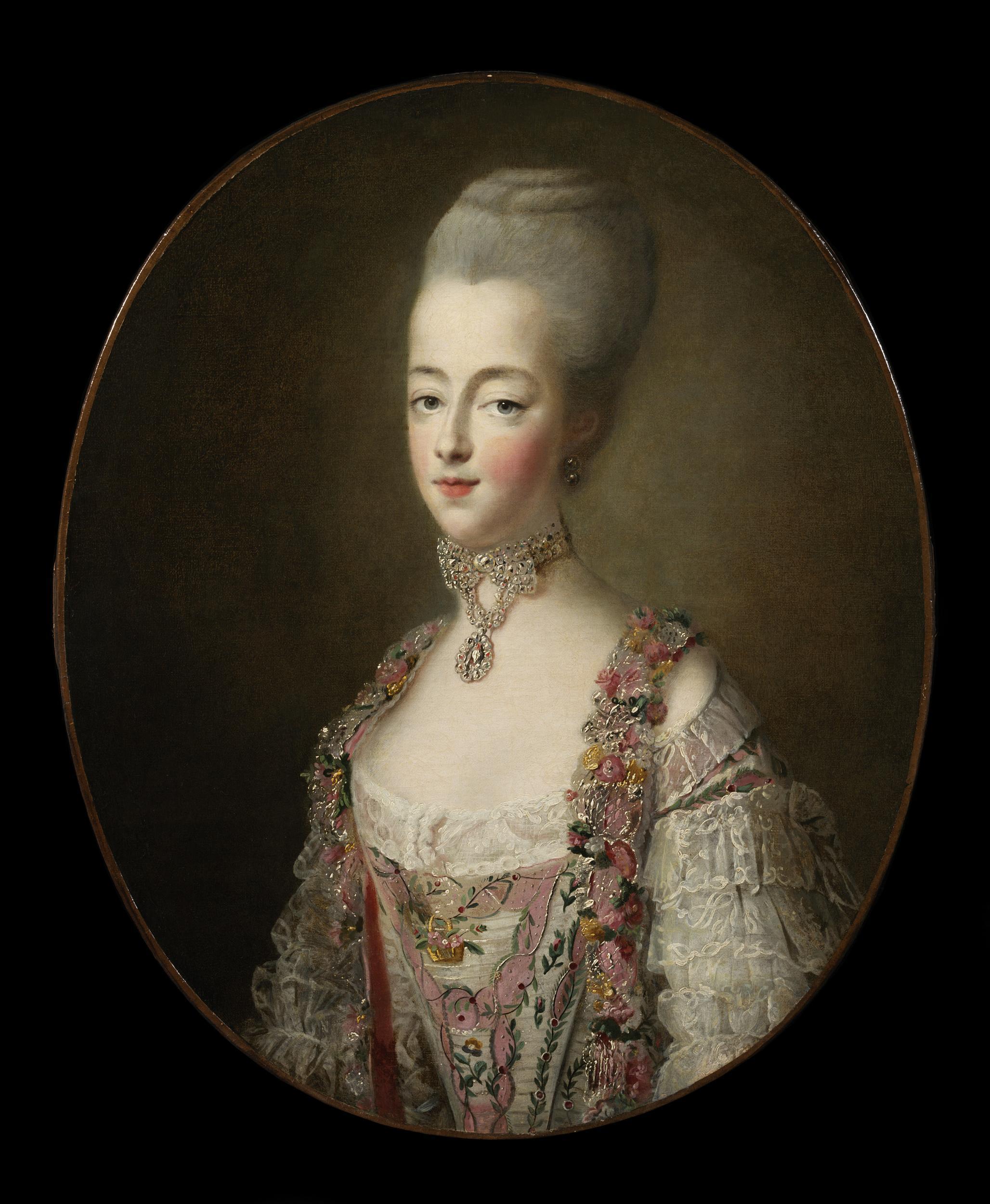 Portraits de Marie-Antoinette par et d'après François-Hubert Drouais Drouai32