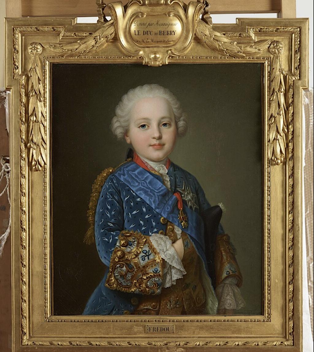 fredou - Portraits de Marie-Antoinette et de la famille royale, par Jean-Martial Frédou Duc_de10
