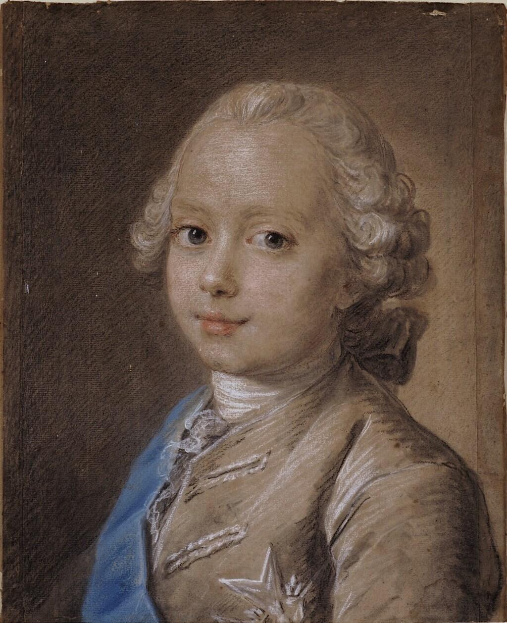 fredou - Portraits de Marie-Antoinette et de la famille royale, par Jean-Martial Frédou Duc_de13