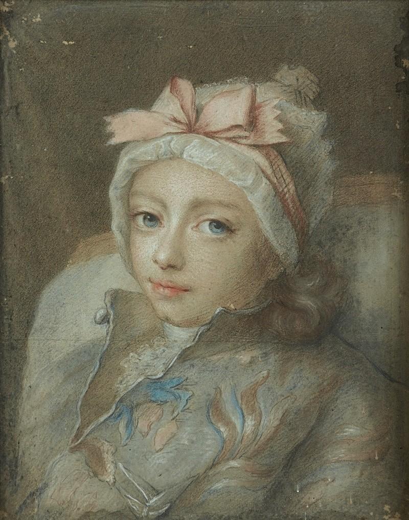 fredou - Portraits de Marie-Antoinette et de la famille royale, par Jean-Martial Frédou Duc_de14