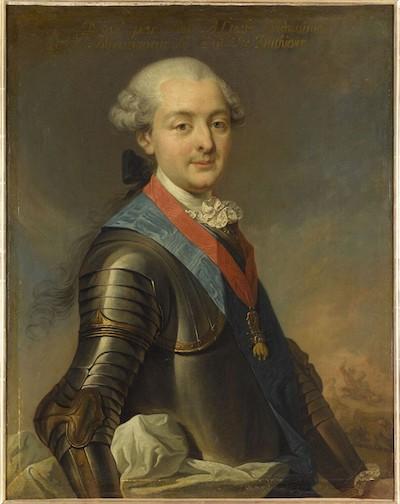 Qui sont les personnages peints sur ce tableau de Jean-Baptiste-André Gautier Dagoty ? Duc_de16