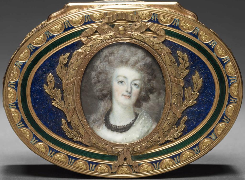 Marie Antoinette, miniatures attribuées à ou d'après François Dumont - Page 2 Dumont10