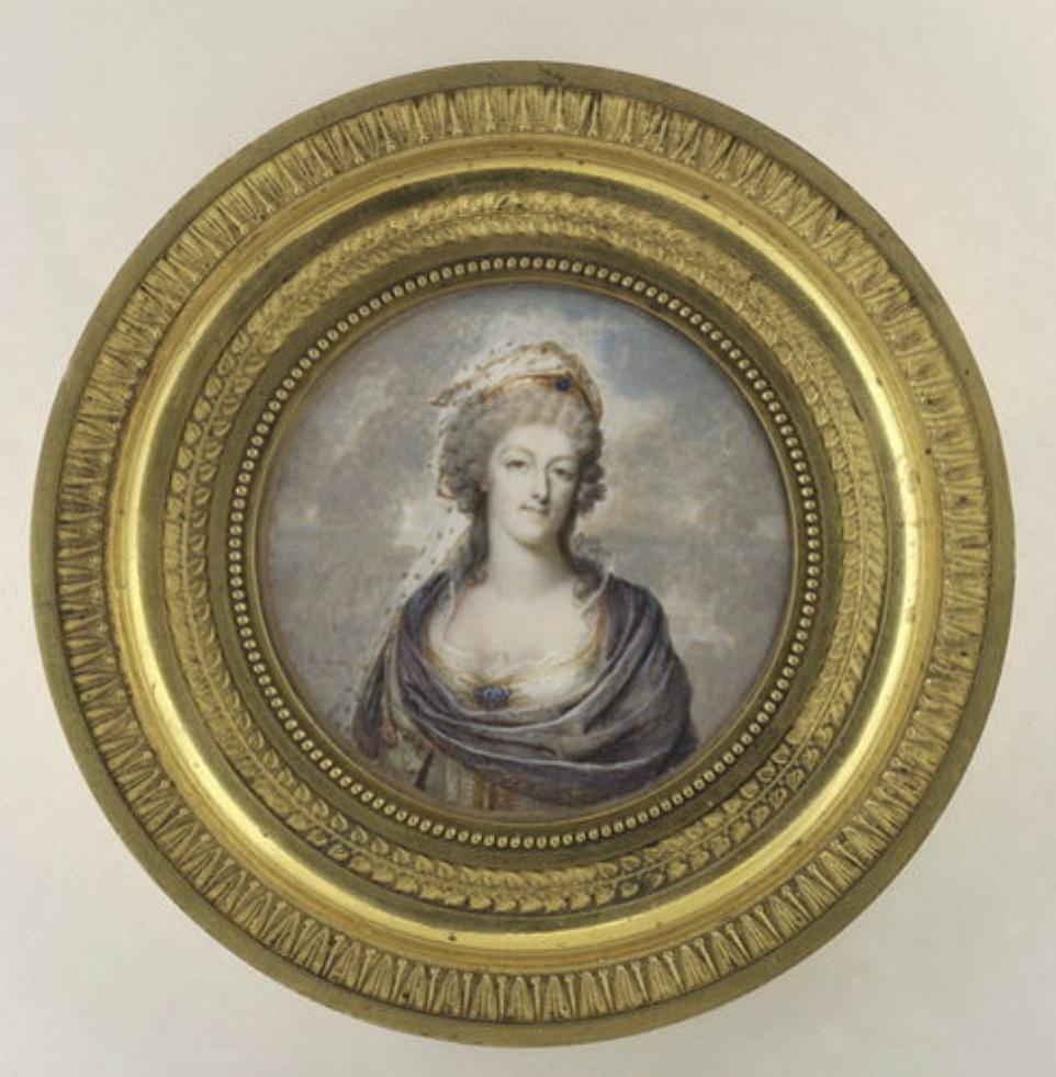 Portraits de Marie-Antoinette costumée à l'antique, ou en vestale, par et d'après F. Dumont  Dumont13