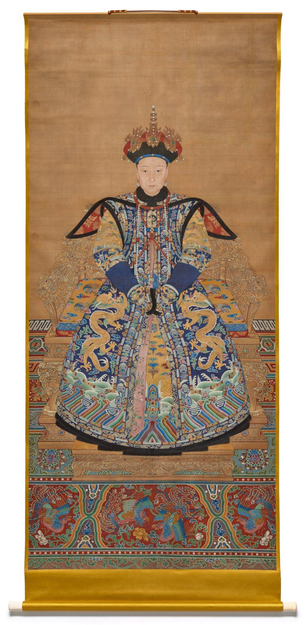 Impératrices, épouses et concubines de l'empereur de Chine (dynastie Qing) dans la Cité Interdite E3361910