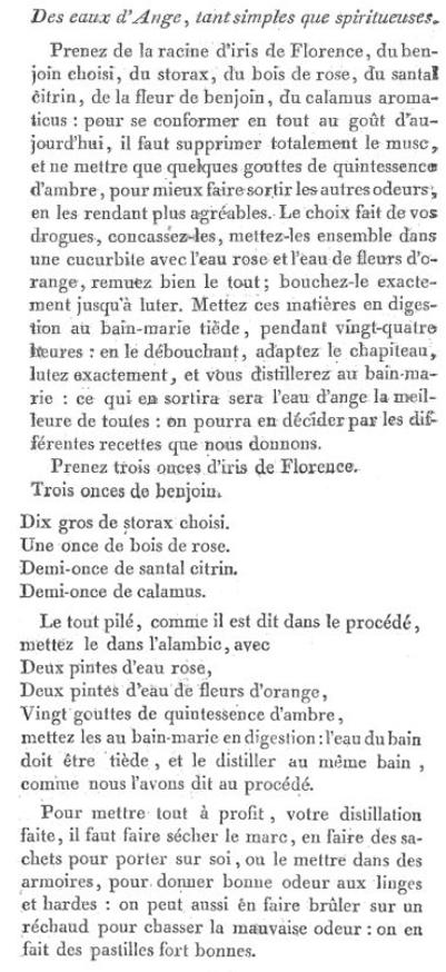 Les soins et produits de beauté de Marie-Antoinette : Jean-Louis Fargeon (parfumeur) et Pierre-Joseph Buc'hoz (médecin botaniste) Eau-da10
