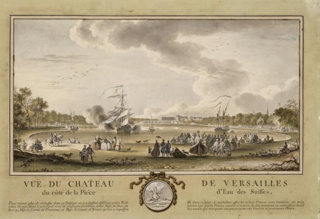 La Pièce d'Eau des Suisses, Versailles Eau_de10