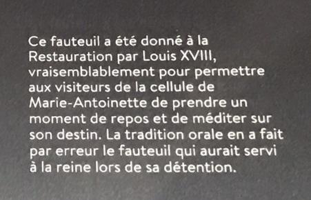 La cellule de Marie-Antoinette à la Conciergerie   - Page 6 Ed4bbd10