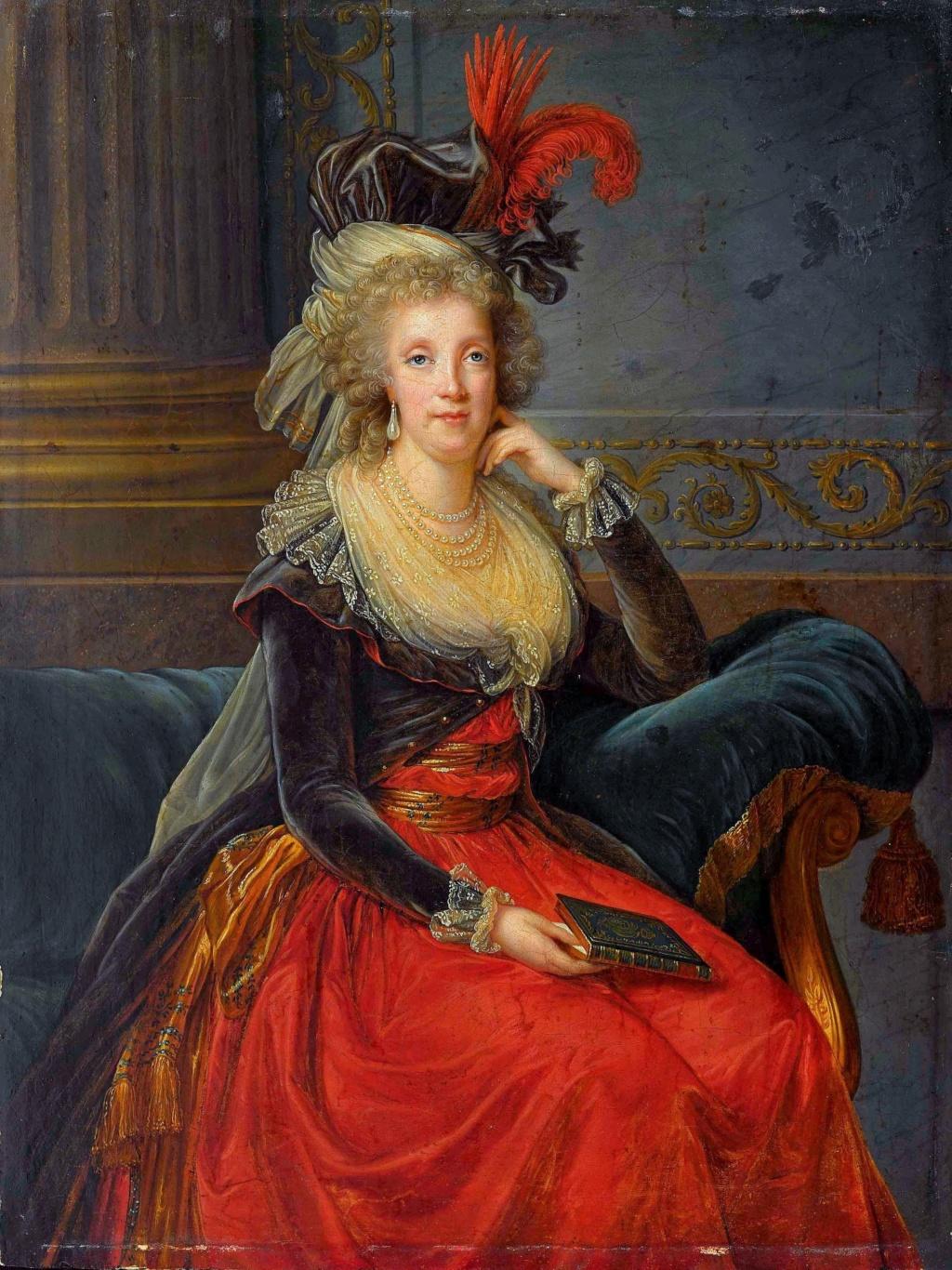 Portraits de Marie Caroline d'Autriche, reine de Naples et de Sicile - Page 3 Elisab14
